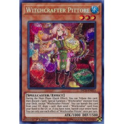 YGO INCH-EN015 Pittore, Artisanesorcière / Witchcrafter Pittore