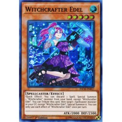YGO INCH-EN017 Witchcrafter Edel