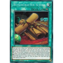 YGO INCH-EN025 Parchemin Artisanesorcière / Witchcrafter Scroll