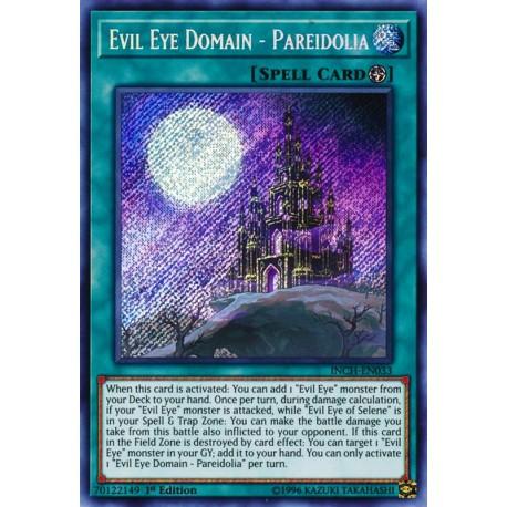 YGO INCH-EN033 Evil Eye Domain - Pareidolia