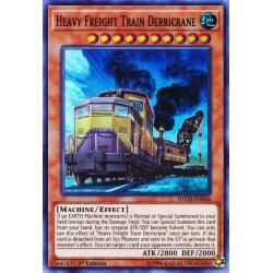 YGO INCH-EN046 Derricrane Train de Fret Lourd / Heavy Freight Train Derricrane