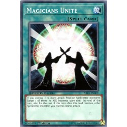 YGO SBLS-EN009 Unité des Magiciens / Magicians Unite