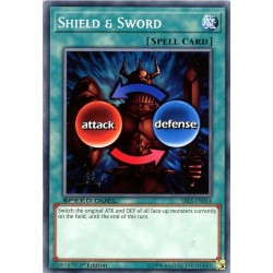 YGO SBLS-EN014 Shield & Sword