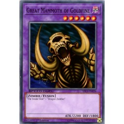 YGO SBLS-EN034 Great Mammoth of Goldfine