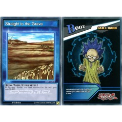 YGO SBLS-ENS02 Straight to the Grave
