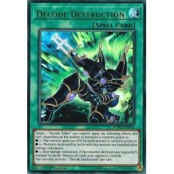YGO DUPO-EN016 Décodeur Destruction / Decode Destruction