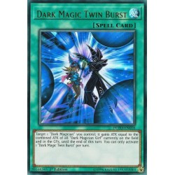 YGO DUPO-EN018 Double Coup Magie des Ténèbres / Dark Magic Twin Burst