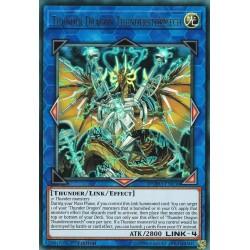 YGO DUPO-EN030 Tonnerretempêmech, Dragon du Tonnerre / Thunder Dragon Thunderstormech