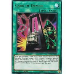 YGO DUPO-EN050 Card of Demise