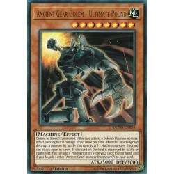 YGO DUPO-EN054 Golem Rouages Ancients - Frappe Ultime / Ancient Gear Golem - Ultimate Pound