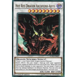 YGO DUPO-EN057 Bouillant Dragon Rouge Archdémon des Abysses / Hot Red Dragon Archfiend Abyss