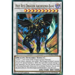 YGO DUPO-EN058 Hot Red Dragon Archfiend Bane