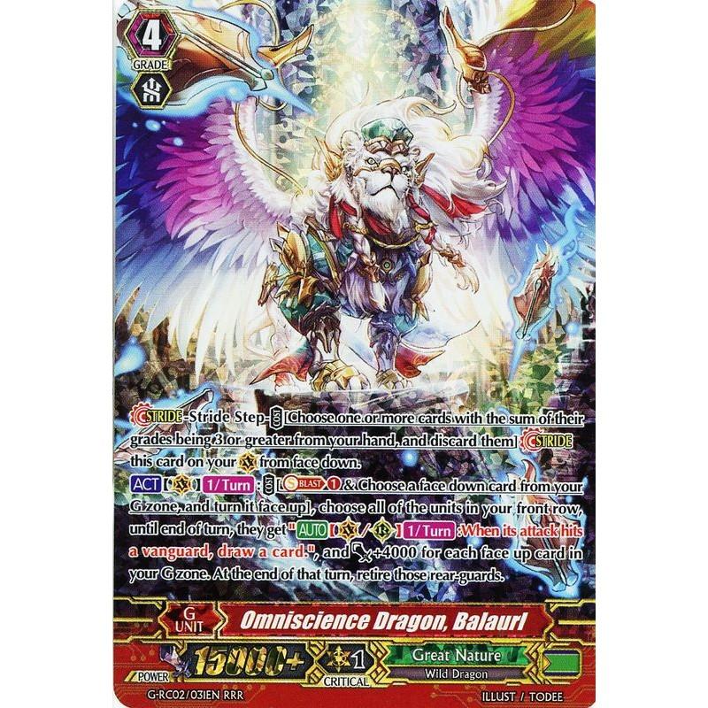 G Rc02031en Omniscience Dragon Balaurl Revival Collection Vol 2 Ca
