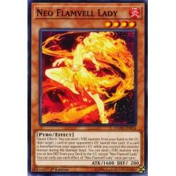 YGO DANE-EN014 Dame de la Néo Cloche de Feu / Neo Flamvell Lady