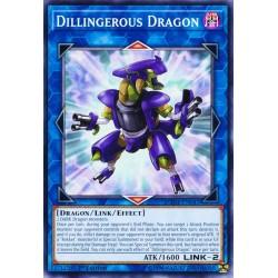YGO DANE-EN041 Dragon Derringereux / Dillingerous Dragon