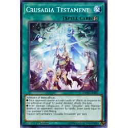 YGO DANE-EN061 Crusadia Testament