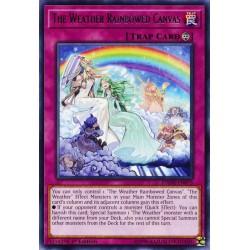 YGO DANE-EN073 Peinture Arc-en-Ciel Météorologique / The Weather Rainbowed Canvas