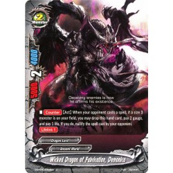 BFE S-BT04/0059EN C Wicked Dragon of Fabrication, Demonica