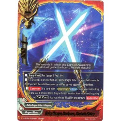 BFE S-BT04/0069EN Secret Deity Dragon Duobeam, Gartwin Saber