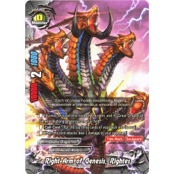 BFE S-BT04/0027EN Foil/R Right Arm of Genesis, Rightes
