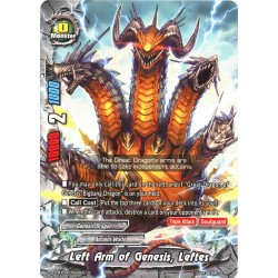 BFE S-BT04/0028EN Foil/R Left Arm of Genesis, Leftes