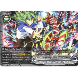BFE S-BT04/0047EN Foil/U Linkdragon Order Secret Arts, Thunderbomb