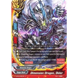 BFE S-BT04/0051EN Foil/C Dimension Dragon, Dolor