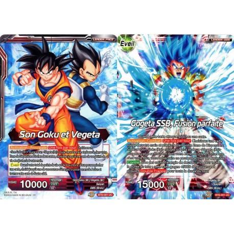 DBS BT6-001 UC Son Goku and Vegeta