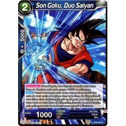DBS BT6-031 C Saiyan Duo Son Goku