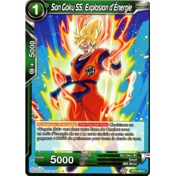 DBS BT6-055 C SS Son Goku, Exploding with Energy