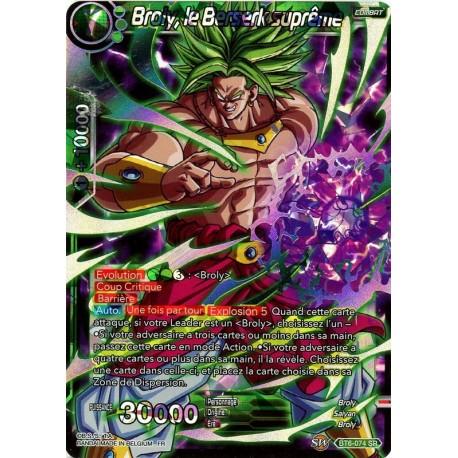 DBS BT6-074 SR Broly, the Supreme Berserker