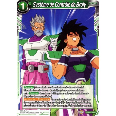 DBS BT6-076 UC Broly Control Mechanism