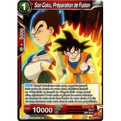 DBS BT6-005 FOIL/C Son Goku, Préparation de Fusion