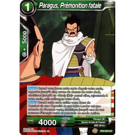 DBS BT6-065 FOIL/UC Paragus, Deadly Premonition