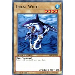 YGO SBAD-EN021 Great White