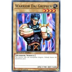 YGO SBAD-EN035 Warrior Dai Grepher