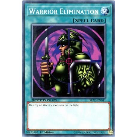 YGO SBAD-EN041 Warrior Elimination