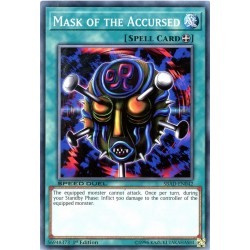 YGO SBAD-EN042 Masque du Maudit / Mask of the Accursed