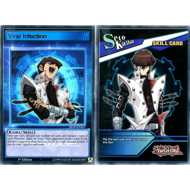 SPEED DUEL SBAD-ENS05 VIRAL INFECTION ULTRA RARE 1st edition Yugioh