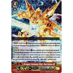 CFV V-SS01/019EN RRR Strongest Command Chief, Final Daimax DX