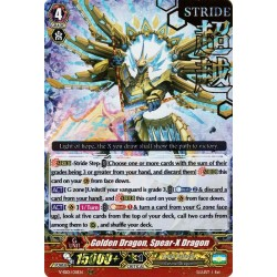 CFV V-SS01/011EN RRR(Stamp) Golden Dragon, Spear-X Dragon