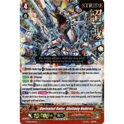 CFV V-SS01/015EN RRR(Stamp) Unrivaled Ruler, Gluttony Nebiros