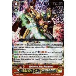 CFV V-SS01/018EN RRR(Stamp) Universe Ace, Bustered