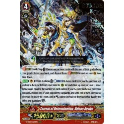 CFV V-SS01/027EN RRR(Stamp) Torrent of Determination, Valeos Revive