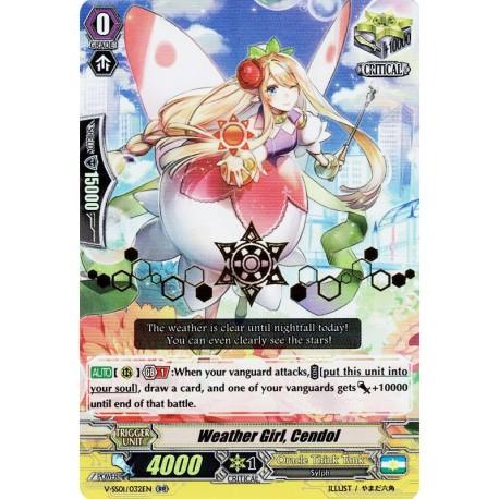 CFV V-SS01/032EN RR(Stamp) Weather Girl, Cendol