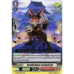 CFV V-SS01/040EN RR(Stamp) Stealth Beast, Scratch Cat