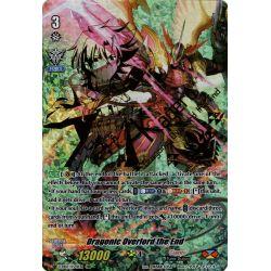 CFV V-EB07/XV01EN XVR (Twin Vanguard Rare - Original Art) Dragonic Overlord the End