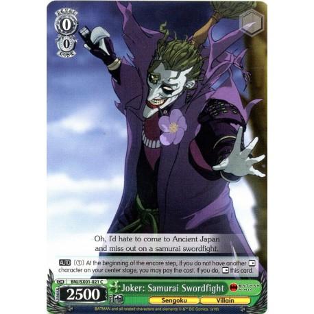 BNJ/SX01-021 C Joker: Samurai Swordfight