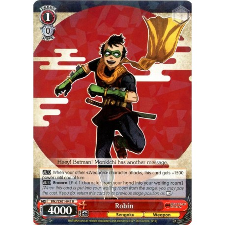 BNJ/SX01-041 R Robin