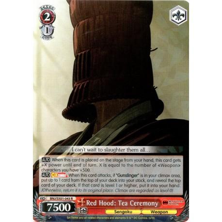 BNJ/SX01-043 R Red Hood: Tea Ceremony